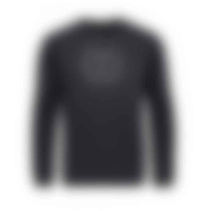 Makia Clothing Black Patrons Crew Sweatshirt