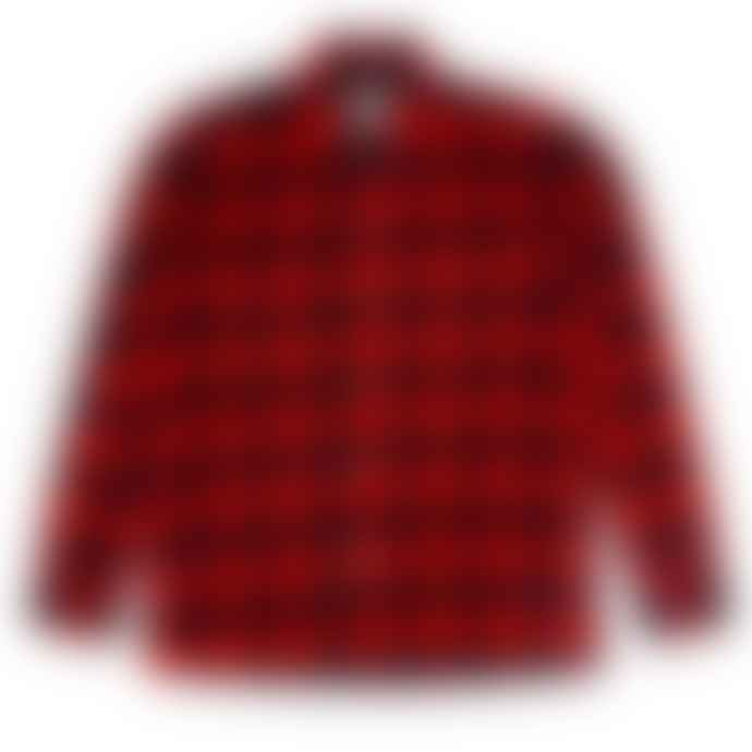 Bellfield Red Merrick Check Shirt