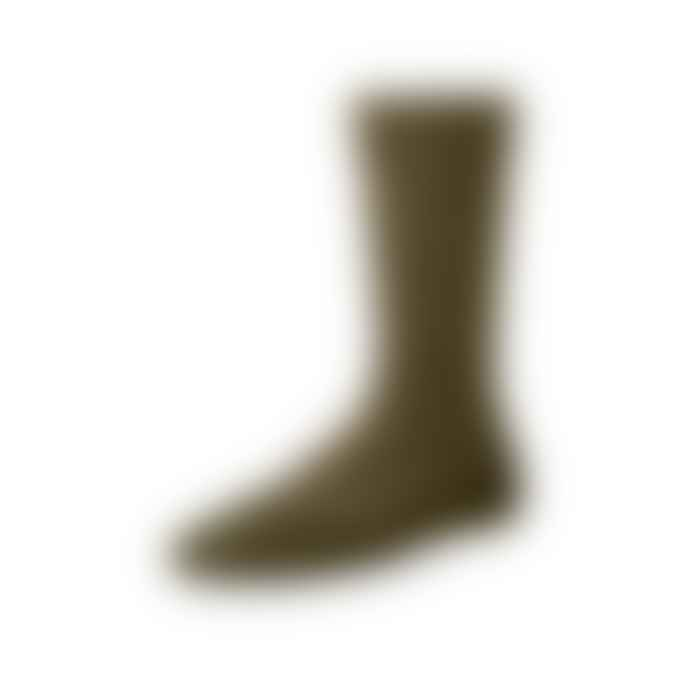 Red Wing Heritage Capped Wool Socks 97178 Olive