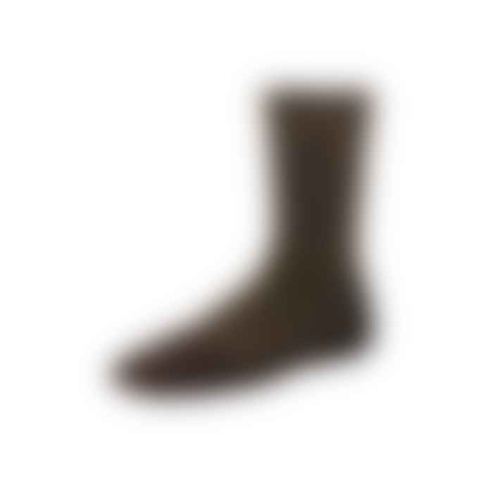 Red Wing Heritage Brown Capped Wool Sock