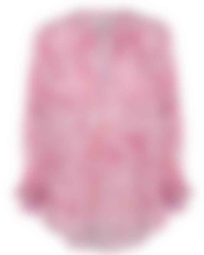 Primrose Park Sandy Shirt Blue Pink Leo