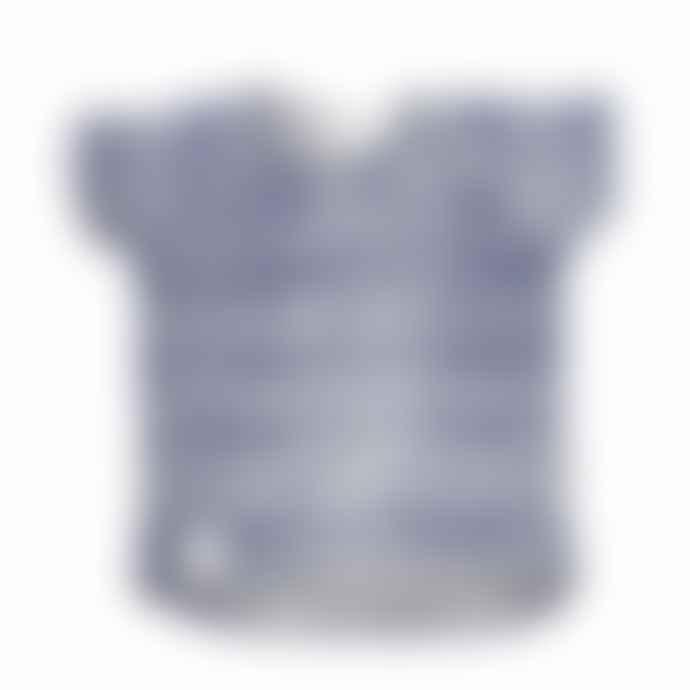Riffle T Shirt Stripe Indigo