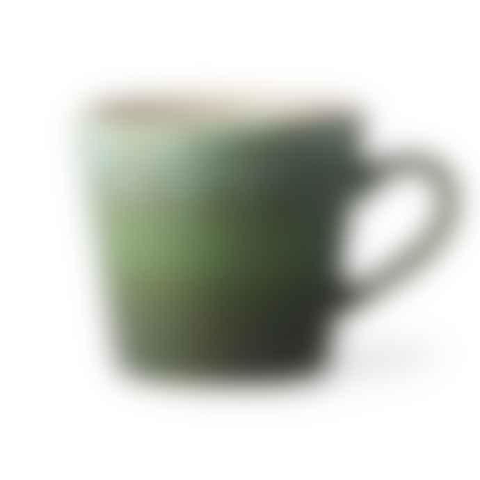 HKliving Ceramic 70 S Cappuccino Mug Grass
