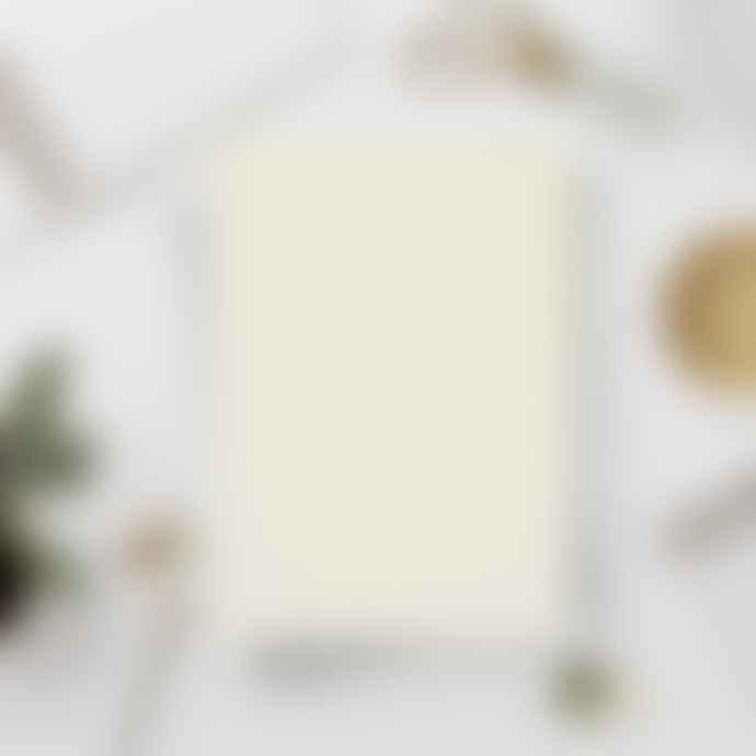 Katie Leamon  Wiro Cream Grid Notebook