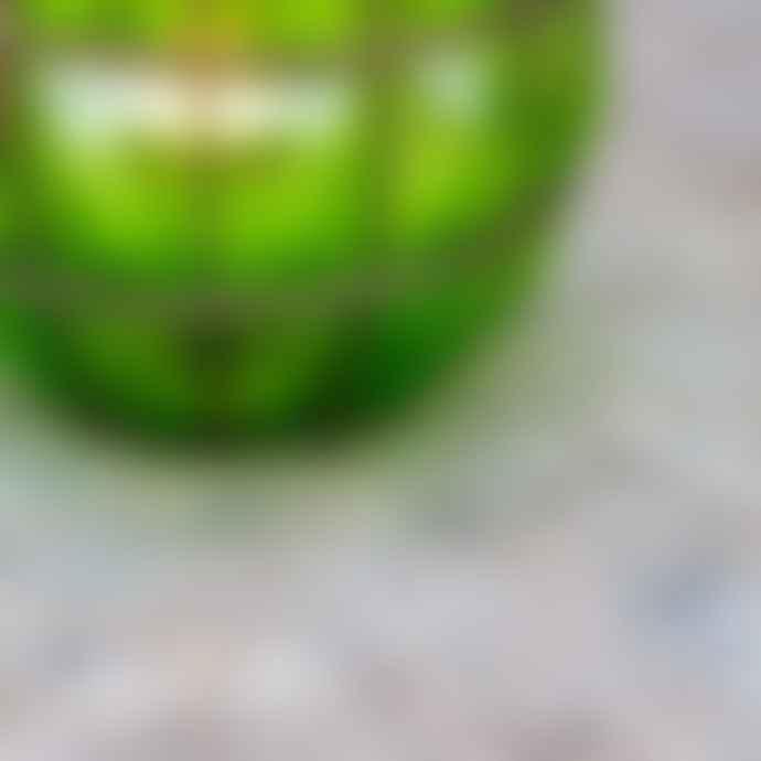 Grand Illusions Emerald Glass Blown Lantern