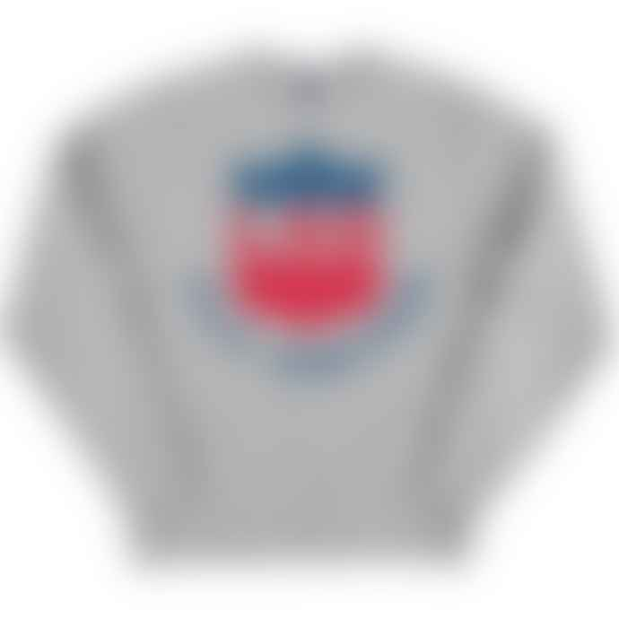 Standard Reference Materials Srm Fly United Russell Crew Sweatshirt Oxford Grey