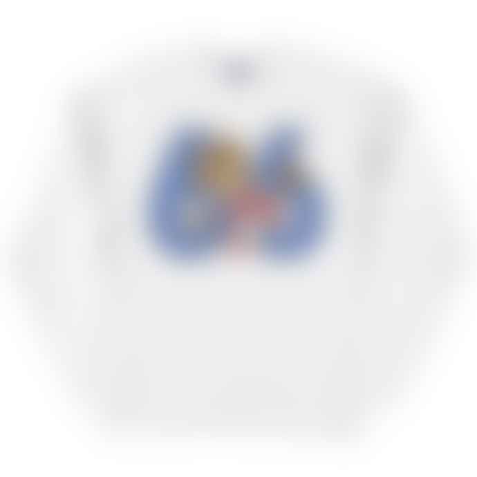 Standard Reference Materials Srm England 66 World Cup Willie Russell Crew Sweatshirt White Blue
