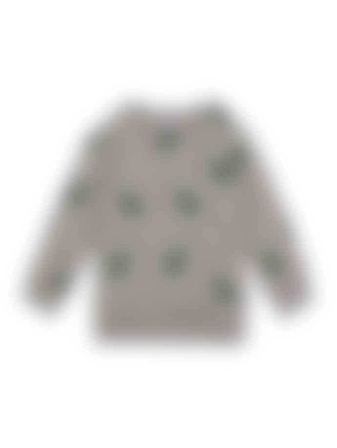BASIC WOMAN Grey Guitar Sweatshirt
