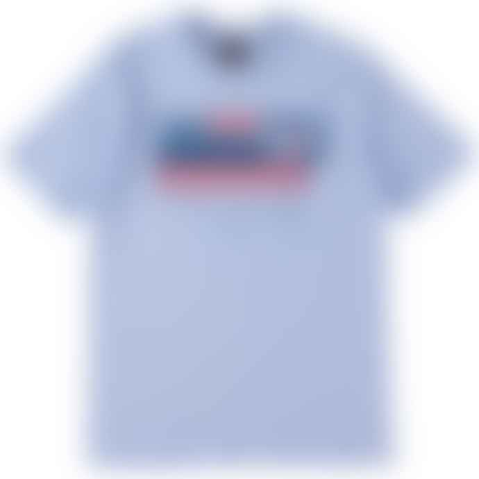 Standard Reference Materials Srm Hands Across America 86 Tee Sky Blue