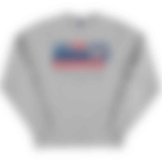 Standard Reference Materials Srm Hands Across America 86 Russell Crew Sweatshirt Oxford Grey