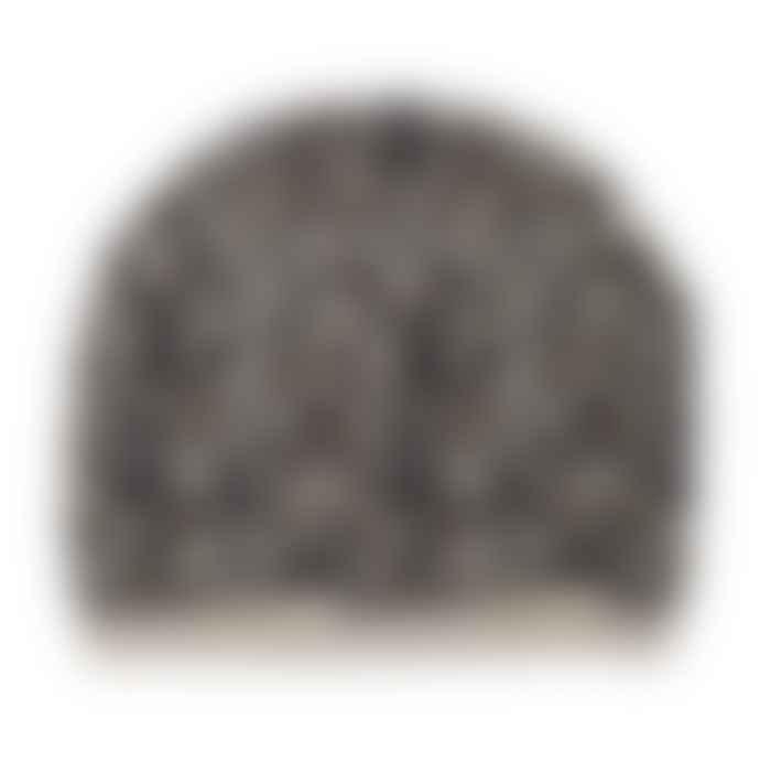 Somerville Scarves Leopard Cashmere Beanie