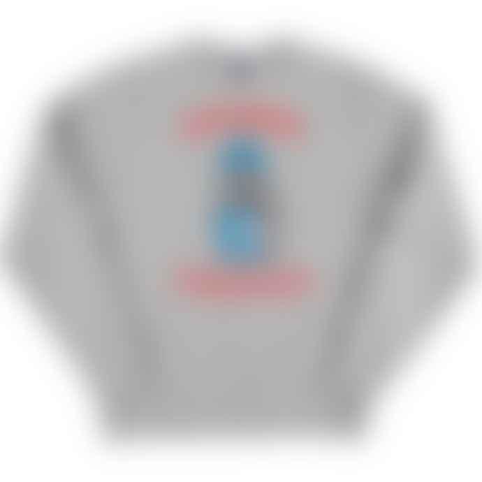 Standard Reference Materials Srm X Bloggsy Sesh Proper Russell Crew Sweatshirt Oxford Grey