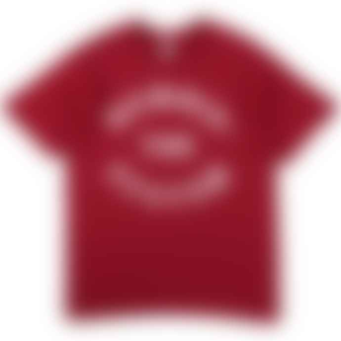 Standard Reference Materials Srm Bombin The System Flock Logo Tee Red White