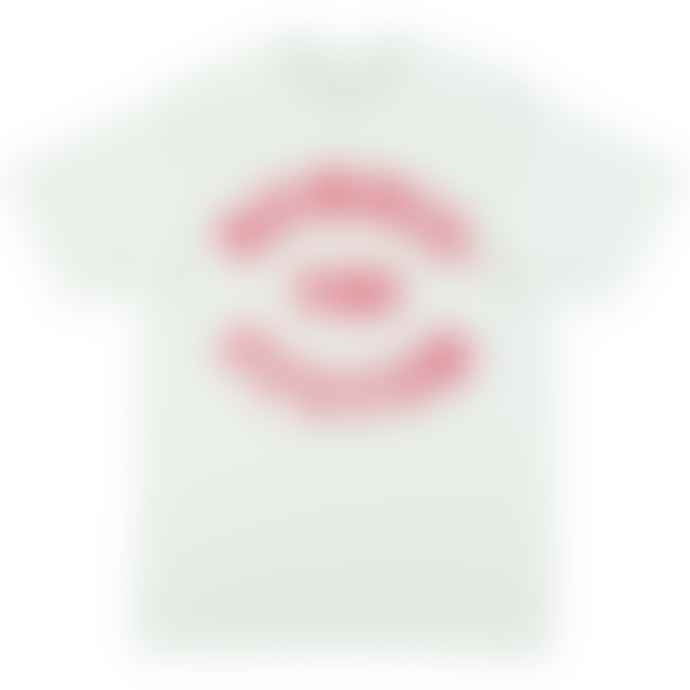 Standard Reference Materials Srm Bombin The System Flock Logo Tee White Red