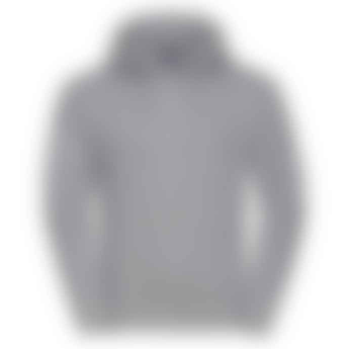 Russell Authentic Hooded Sweatshirt Light Oxford Grey