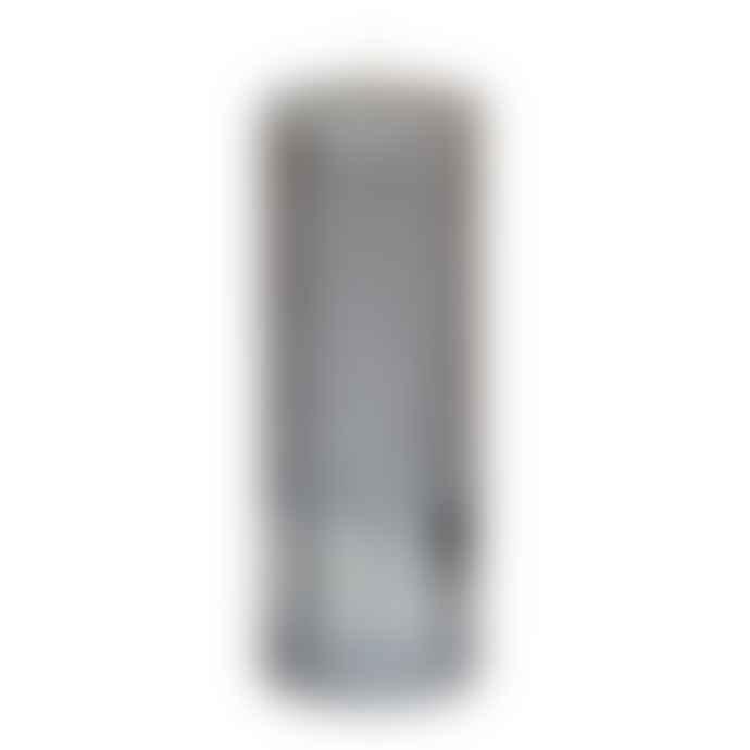 PTMD Metallic Taupe Pillar Candle 18x7cm