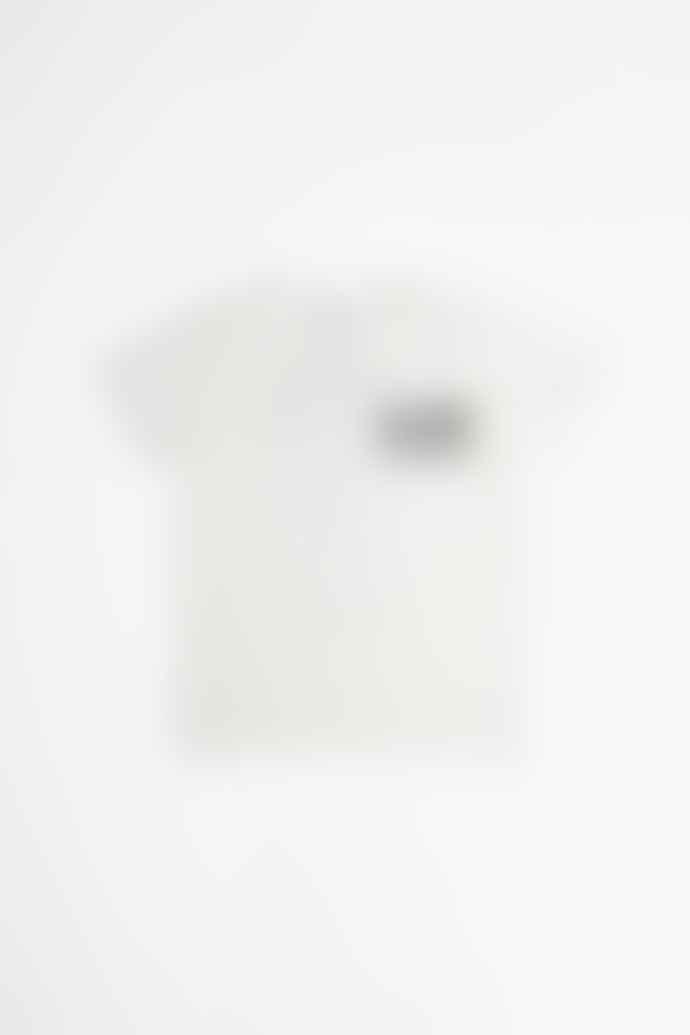 Tacoma Fuji Records Komma Police Records T Shirt White