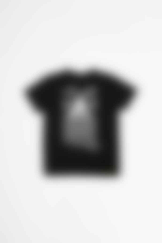 Tacoma Fuji Records Amphibian Tears T Shirt Black