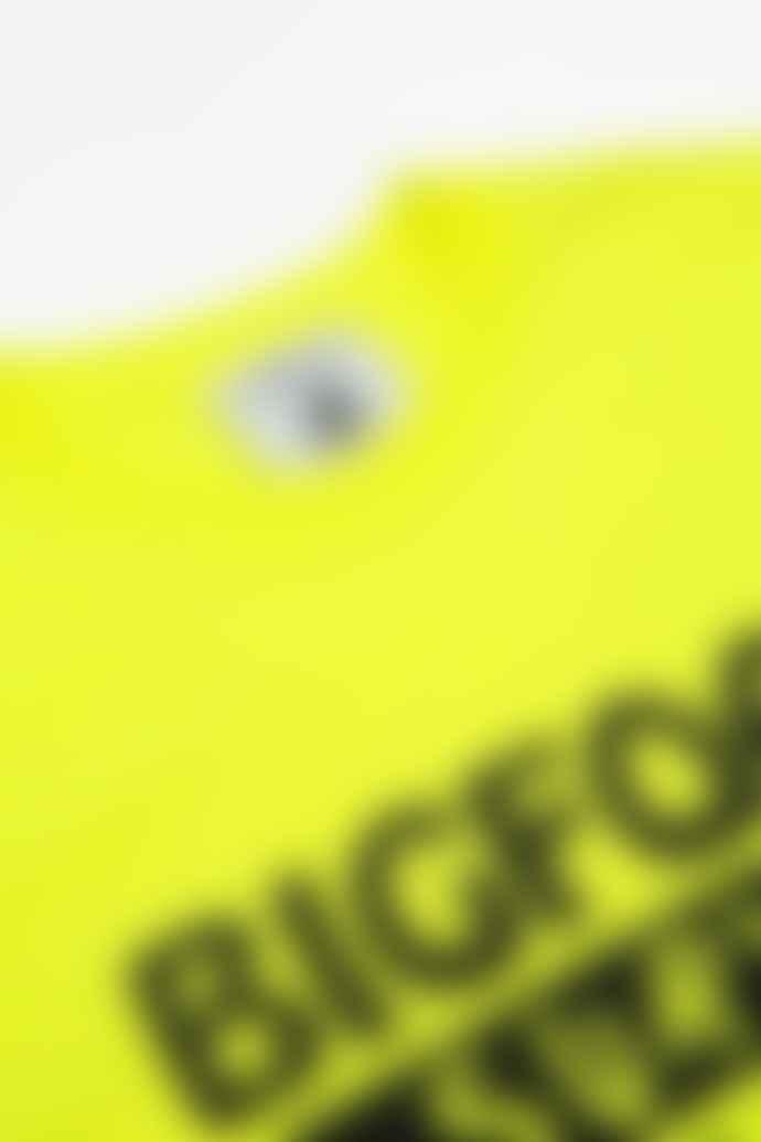 Tacoma Fuji Records Bigfoot Survey Project T Shirt Yellow