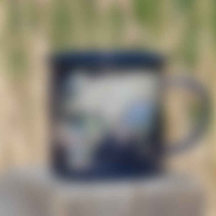Gift Republic Large Enamel Mug - Various Designs