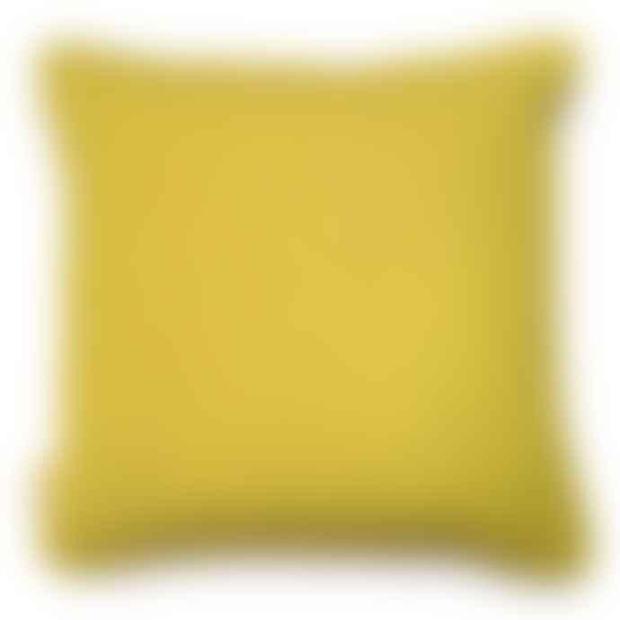 Susi Bellamy Grey Stucco Printed Velvet Cushion