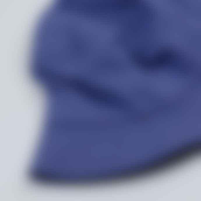 cableami Herringbone Bucket Hat Plain Blue