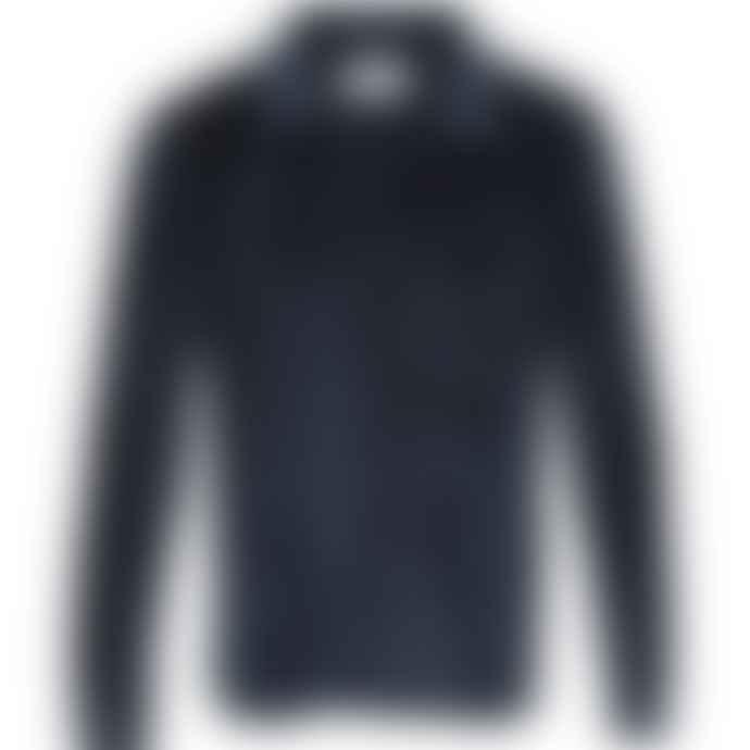Townsfolk Don Shirt Navy Velour