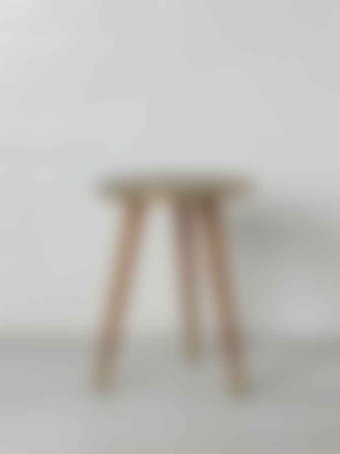 Dutchbone Embossed Brass Side Table