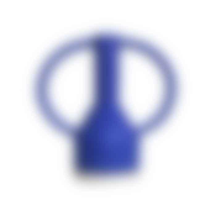 Sophie Alda Jug Eared Vase In Cobalt Large
