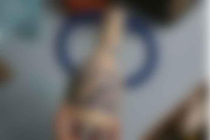 Sophie Alda Patterned Jug Eared Vase Midi