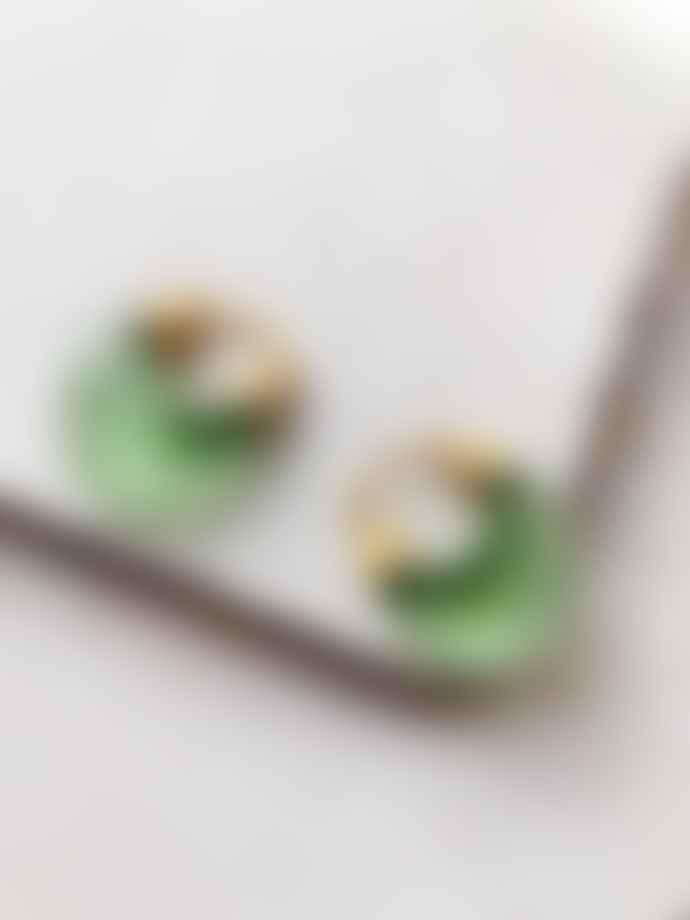Shyla Etienne Earrings In Green