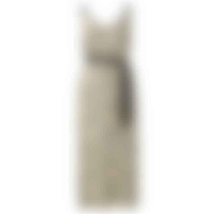 Yaya Satin Maxi Strap Dress with Lemon Print