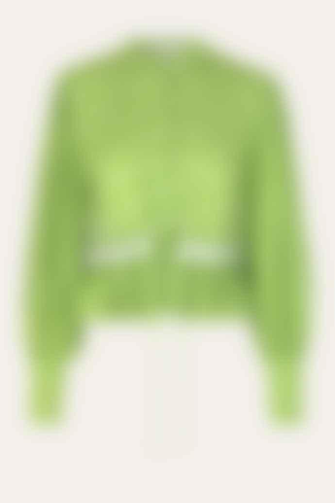 Stine Goya Mena Top Green Dots