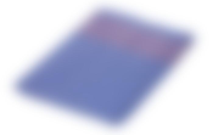 Redecker Tea Towel Blue W/Red Stripes