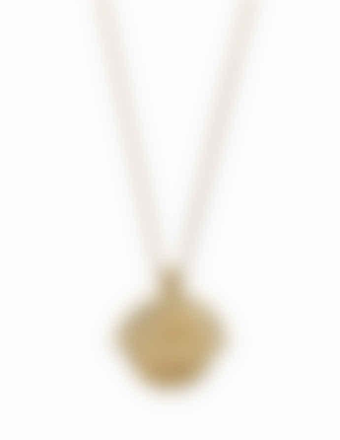 Nordic Muse 18k Gold Vermeil Zodiac Pisces Necklace NK - 0087 PISCES