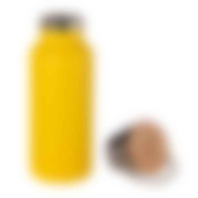 Sass & Belle  Mustard Yellow Water Bottle