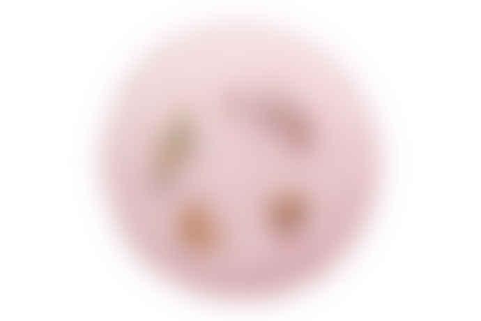 wigiwama Pink Velvet Ruffle Playmat