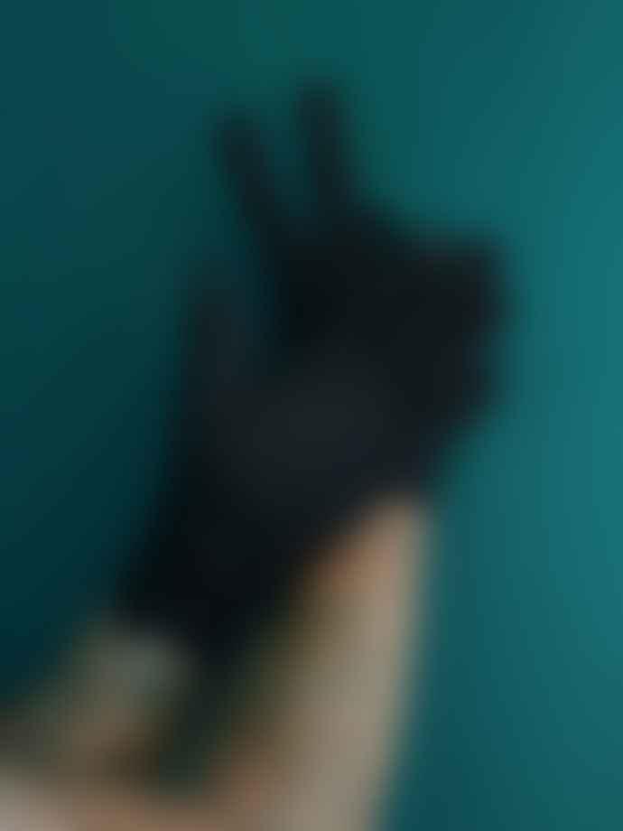 RHANDERS HANDSKER Mens Protective Gloves Black