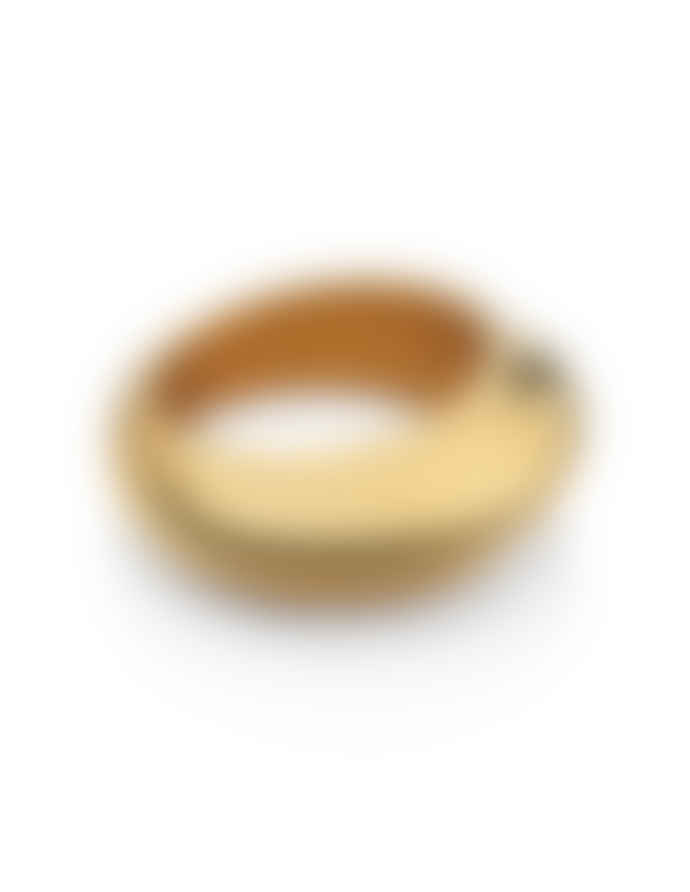 Nordic Muse Waterproof 18k Gold Dome Ring RG - 0019