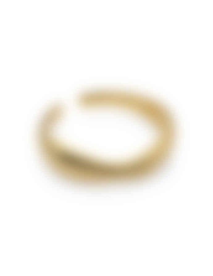 Nordic Muse 18k Gold Vermeil Adjustable Irregular Ring