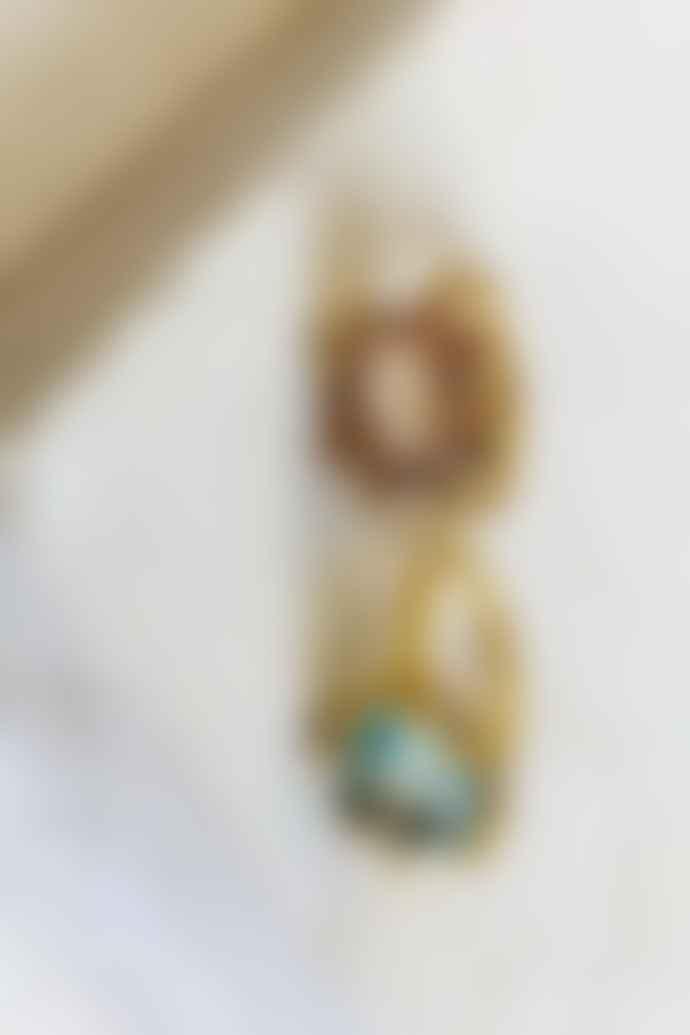 Shyla Oval Claw Smoky Quartz Ring