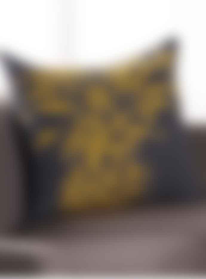 David Fussenegger Large Pineapple Design Cushion