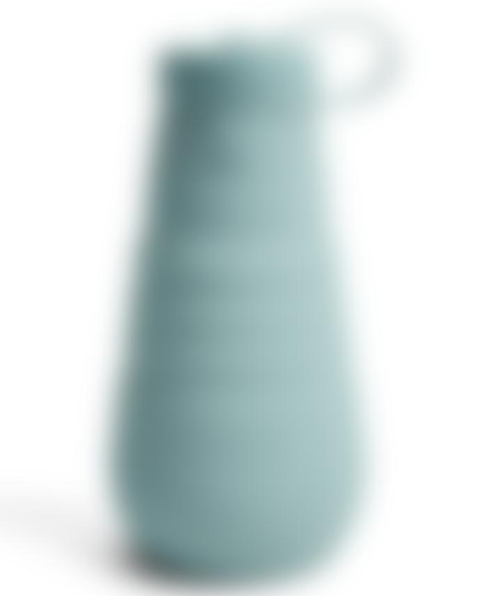 Stojo Aquamarine Blue Collapsible Bottle