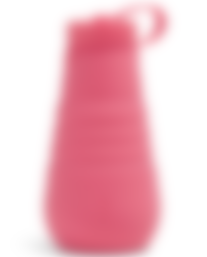 Stojo Peony Pink Silicone Collapsible Bottle