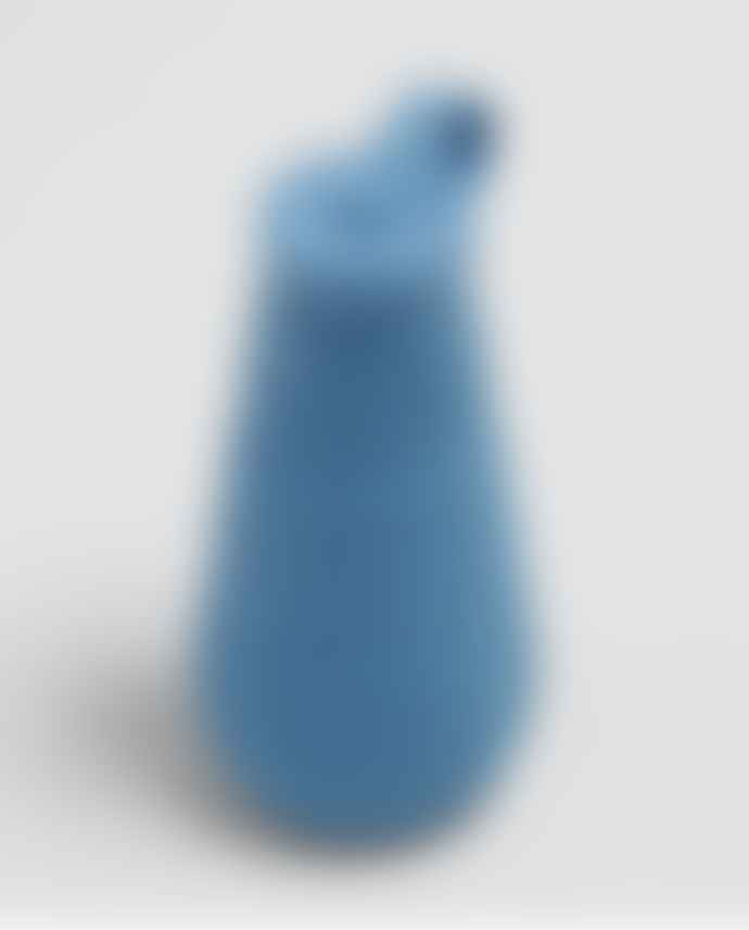 Stojo Steel Blue Silicone Collapsible Bottle
