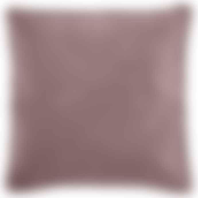 Ib Laursen Malva Pink Velvet Cushion Including Feather Pad