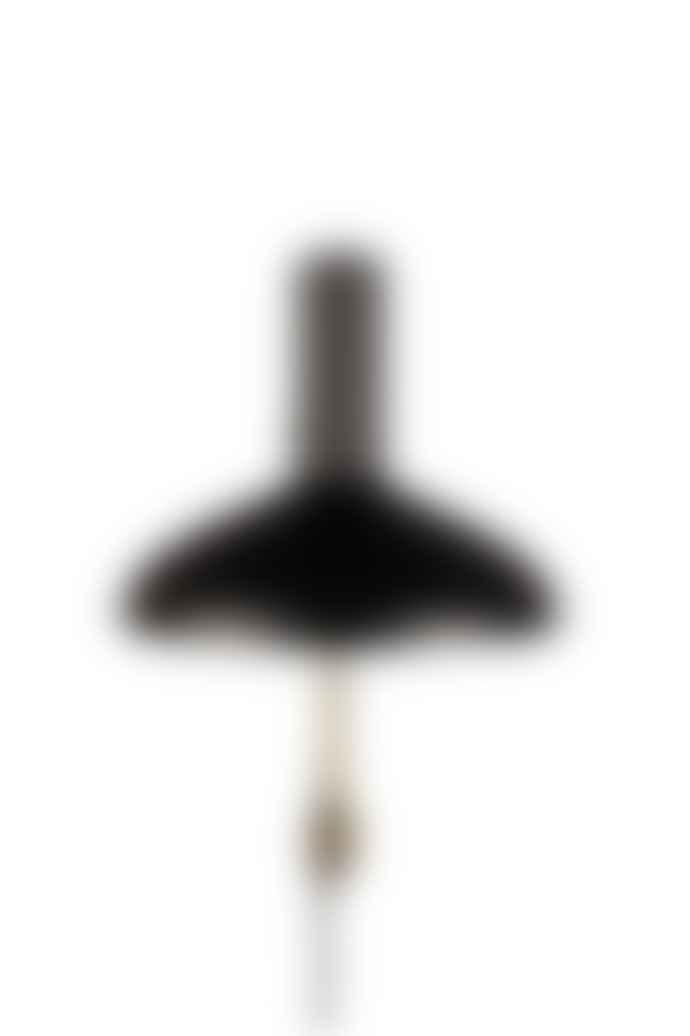 Dutchbone Devi Black And Brass Wall Lamp