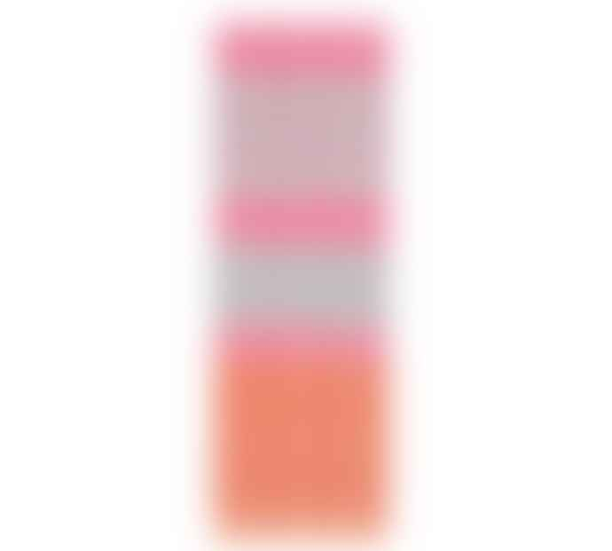 British Colour Standard Striped Willow Neyron Rose Orange Flame Candles
