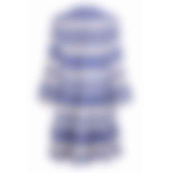 Pearl & Caviar Zakar Dress Blue Stripe