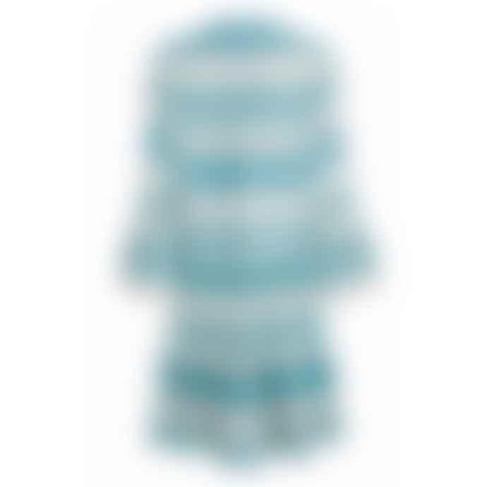 Pearl & Caviar Zakar Dress Mint Stripe